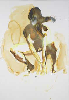 ERIC FISCHL Untitled, 2011 Watercolor on paper 60 × 40 in 152.4 × 101.6 cm