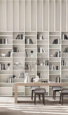 Shelving Design, Bookshelf Design, Wall Design, House Design, Rooms Decoration, Decoration Design, Contemporary Interior, Modern Interior Design, Interior Architecture