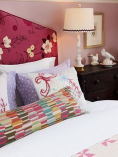 Headboard Ideas From Our Favorite Designers (Sarah Richardson, Candice Olson & David Bromstad): http://www.hgtv.com/bedrooms/headboard-ideas-from-our-favorite-designers/pictures/page-12.html?soc=pinfave #HGTV