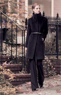 Abrigo y cinturon