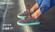 Sorteo POMPEII TE REGALA ZAPATILLAS NUEVAS. En Pompeii queremos regalar unas zapatillas de la nueva colección a cada uno de los 5 ganadores. Puedes