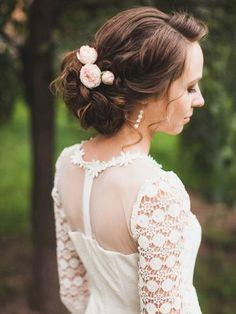 Свадебная прическа - Студия свадебных стилистов Bridesroom