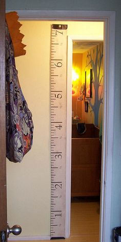 Antique Tape Measure fabric by Nightgarden, perfect for growth charts!