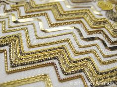 Tracy A Franklin - specialist embroiderer: gold work contempo!