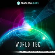 World Tek Volume 2 from Producer Loops distributed by Loopmasters - http://www.audiobyray.com/product/samplepack-world-tek-volume-2/ - Producer Loops, Sample Packs
