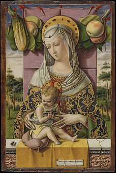 Madonna  and Child, Carlo Crivelli, from the Metropolitan