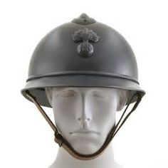 The M15 Adrian helmet  At the outbreak of World War I soldiers in the French Army wore the standard kepi cap, which provided no protection against injury. The  French staff ordered development of a metal helmet that could protect soldiers from the shrapnel. the Adrian was produced. Compared to the Bodie and Stahlhelm, the Adrian with its top vent, insignia decoration and being made of 3 separate pieces, offered less protection and took longer to produce, however millions were made.