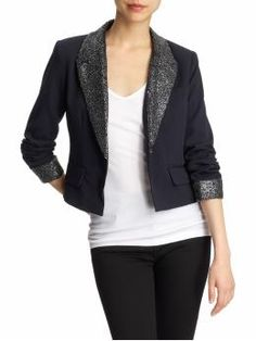 I can be a real person in a sequin blazer, right?