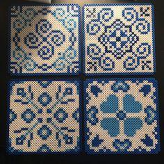 Tiles hama beads by Áslaug Jónsdóttir