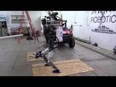 Watch Atlas go through a push test before DARPA's Robotics Challenge