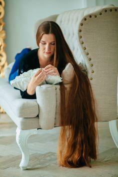 Hausmittel für weiches Haar - schöne lange Haare