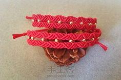 简单好看的红绳
