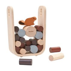 Timber Tumble Game in color Cool Toys For Boys, Best Kids Toys, Toddler Christmas, Christmas Toys, Best Gifts For Tweens, Making Wooden Toys, Tween Girl Gifts, Plan Toys, Ride On Toys