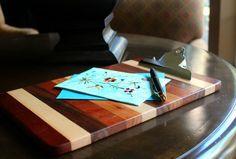 Tin Roof Home hardwood clipboard, from $18.95 (Made in Auburn, Alabama) #madeinusa #madeinamerica