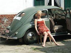 volkswagen beetle photography girl - Ecosia