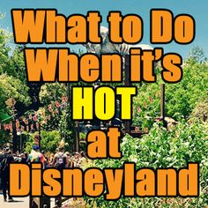 It's getting hot outside! Take a look at this new post detailing everything you need to know for warm days at Disneyland. Save the two graphics listing cool attractions, shows, and indoor dining for easy reference in the parks.