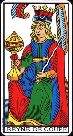 Queen of Cups - Tarot de Marseille (Camoin-Jodorowsky) - Rozamira Tarot - Picasa Web Albums
