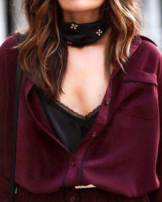 pretty fall colors and necktie