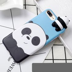 Cute Cartoon We Bare Bears brothers funny toys soft phone case for iphone 5 6 7 8 plus 10 X XR XS MAX cover cases coque Iphone 7 Plus, Cases Iphone 6, Funny Phone Cases, Silicone Iphone Cases, Cell Phone Covers, Iphone Se, Apple Iphone, We Bare Bears, Bear Cartoon