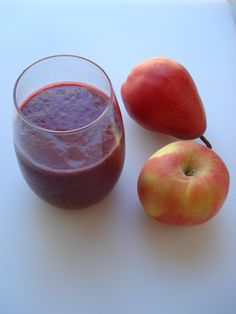 Pear Cherry Detox Smoothie 130