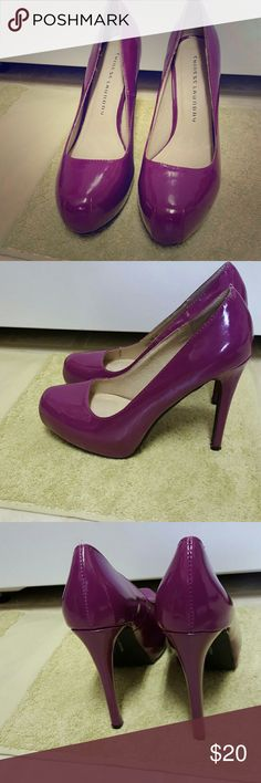 Purple Chinese Laundry Pumps Perfect condition, never worn. Any questions please ask! 😊 Chinese Laundry Shoes Heels