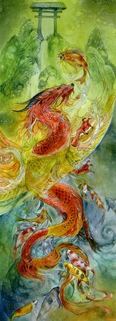 Stephanie Pui-Mun Law - Climbing The Dragon Gate 3