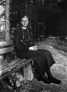 joven granjera Westerwald 1930 August Sander