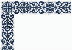 Cross Stitch Borders, Cross Stitch Designs, Cross Stitching, Cross Stitch Patterns, Knitting Patterns, Crochet Patterns, Ribbon Embroidery, Cross Stitch Embroidery, Embroidery Designs
