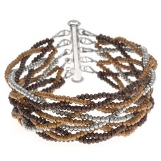 #Tutorial - How to: Weaver's #Bracelet | Beadaholique #Braided