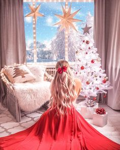 Christmas Party Outfit Idea: - AwesomeLifestyleFashion Off Shoulder wore by Ananya Pandey . Christmas Mood, White Christmas, Xmas, Lovely Girl Image, Girls Image, Followers En Instagram, Christmas Party Outfits, Cute Photography, Christmas Aesthetic