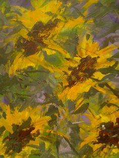 Artwork >> Arturo Arboleda Restrepo >> #sunflowers and #light #purple #artwork, #oil, #painting, #masterpiece, #contemporary, #beauty, #extraordinary