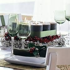 centerpieces for christmas - Google Search