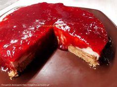 Συνταγή cheesecake (Τσιζκεικ) Cheesecakes, Pie, Desserts, Food, Youtube, Torte, Tailgate Desserts, Cake, Deserts