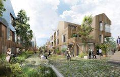 Social Housing Architecture, Co Housing, Healthcare Architecture, Architecture Graphics, Futuristic Architecture, Sustainable Architecture, Landscape Architecture, Landscape Design, Architecture Design