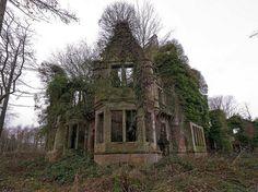 The Ruins of Milkbank House, Kettleholm, Scotland