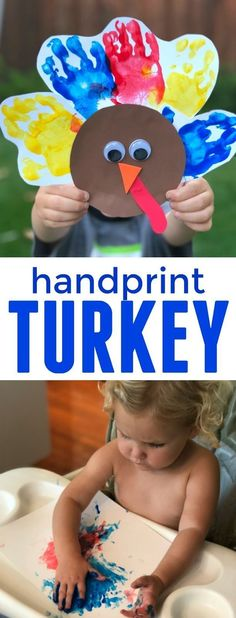 Printable Roll a Turkey Game - Free Thanksgiving Game for Kids!Printable Roll a Turkey Game - Free Thanksgiving Game for Kids !, for Game Children Free printable Easy Handprint Turkey Craft for ToddlersEasy Handprint Daycare Crafts, Classroom Crafts, Toddler Crafts, Preschool Crafts, Infant Crafts, Crafts Toddlers, Kids Daycare, Children Crafts, Classroom Ideas