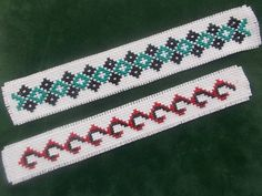 2 Bookmark Cross Stitch Pattern Set by CamisTheCrossStitch on Etsy