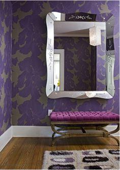 purple large scale wallpaper