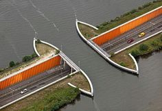 Awesome underwater tunnel in the Netherlands
