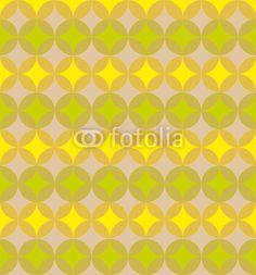 Retro Muster Tapete