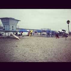 Surfing Competition, Oceanside, California