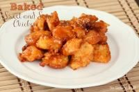 Six Sisters Baked Sweet and Sour Chicken. We love this dish!
