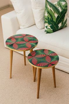 Based on a farm in the KZN Midlands in South Africa, Aroko strives to take what is intrinsically African in design and daily use, and repurpose it into a unique collection of designer tables. Nesting Tables, African Design, Repurposed, Hardwood, Wax, Artisan, Fabric, Bling Bling, Inspiration