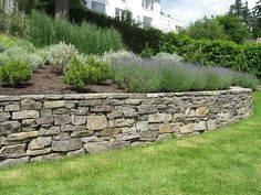 Recycled Concrete, Block & Stone Retaining Walls