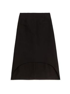 Runway skirt in cotton cady