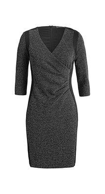 Two Tone Heavy Jersey kjole