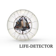 Life-detector is detection device used in post-earthquake rescue missions. Its spherical shape can more easily overcome challenging terrain, and its inflatable structure effectively protects the inner computer, making it convenient for transport. #JDA2016 #China