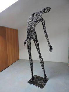 "Saatchi Art Artist Michele Rizzi; Sculpture, ""Capture the energy of the stars (Star man)"" #art"