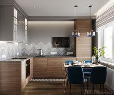 Дизайн кухни из икеи Modern, Kitchen Decor, Conference Room, Interior, Table, Design, House, Inspiration, Furniture