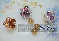 [Tutorial] Bead Ball #1 - would make nice earrings